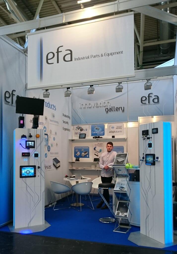Stand EFA Bauma 2016