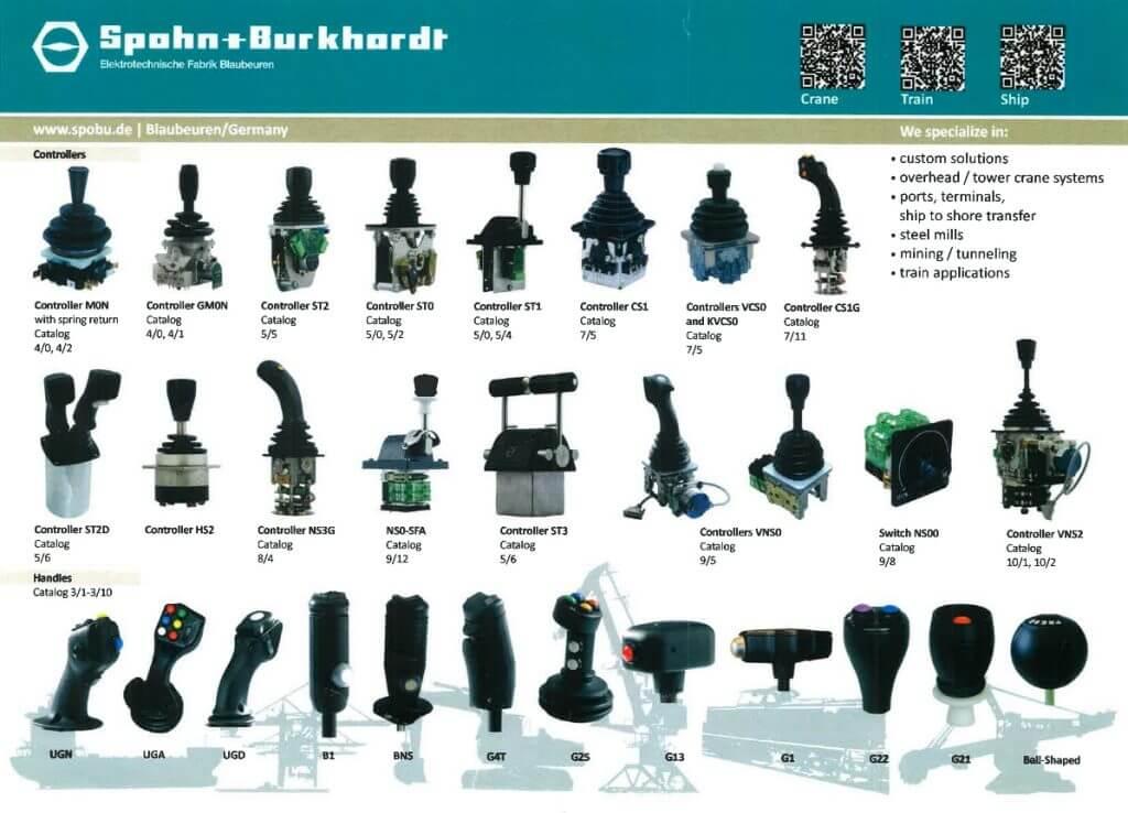 Spohn Amp Burkhardt Joysticks Efa Controls Sp 233 Cialiste